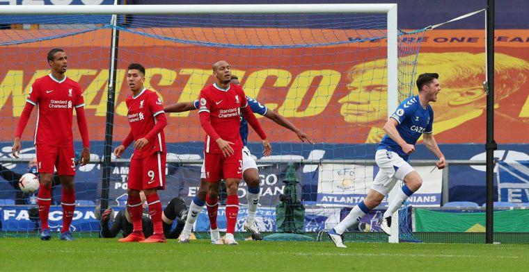Zinderende Merseyside Derby: Liverpool laat punten liggen met hoofdrol voor VAR