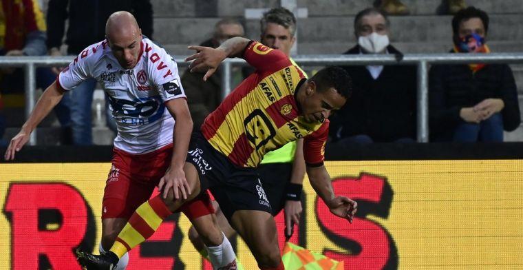 KV Kortrijk maakt comeback tegen KV Mechelen na rode kaart Kaboré
