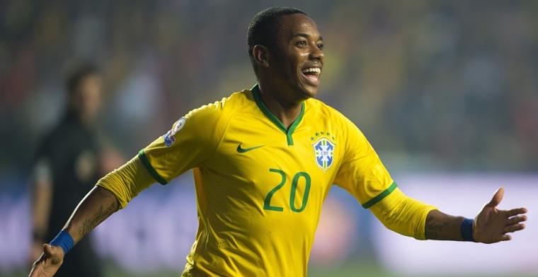 Soap rond Robinho: Santos stelt terugkeer van 100-voudig international uit