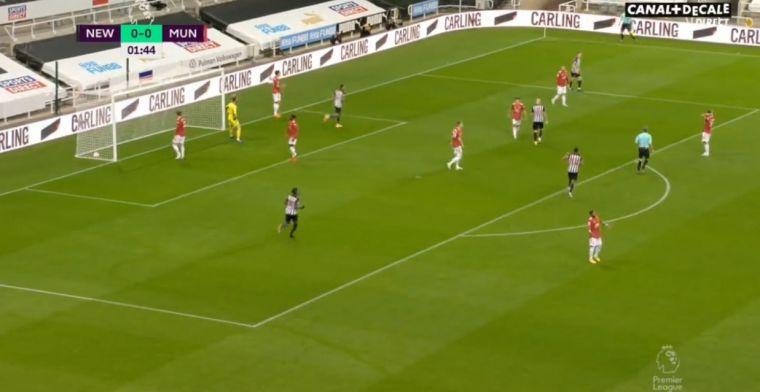 Alles gaat mis voor dolend Man United: eigen goal Shaw na amper één minuut