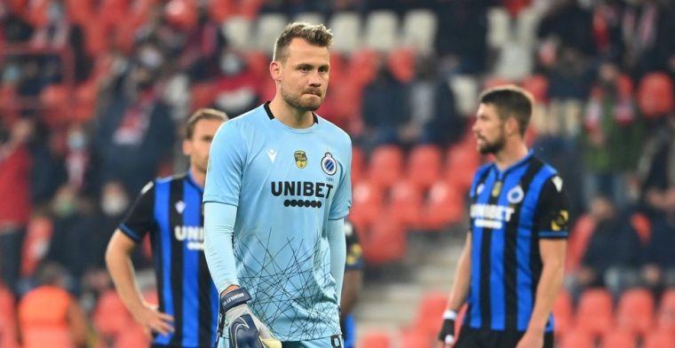 Mignolet reageert na positieve coronatest bij Club Brugge: 'Zeer jammer'