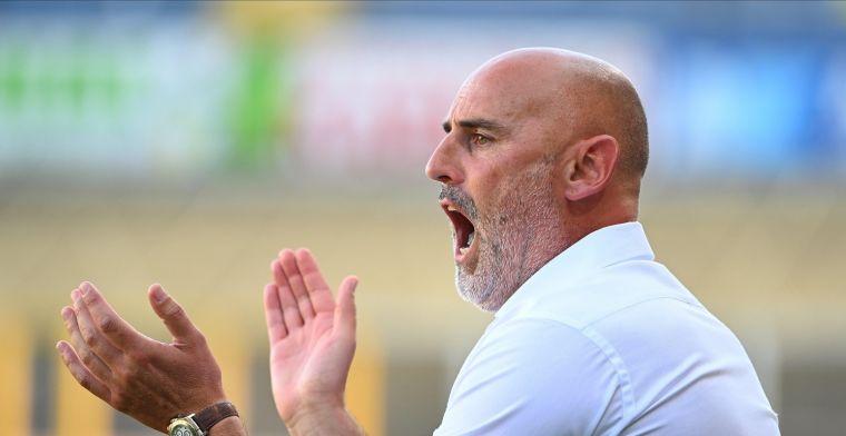 Muscat hard voor spelers van STVV: Dan word je afgestraft, en terecht