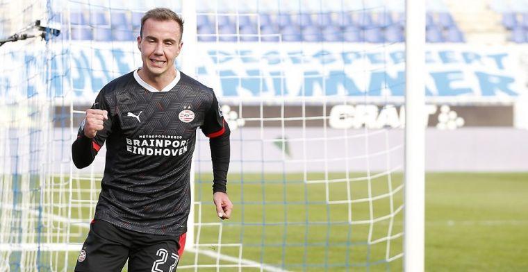 Götze scoort binnen acht minuten voor PSV: 'De Eredivisie is te makkelijk'