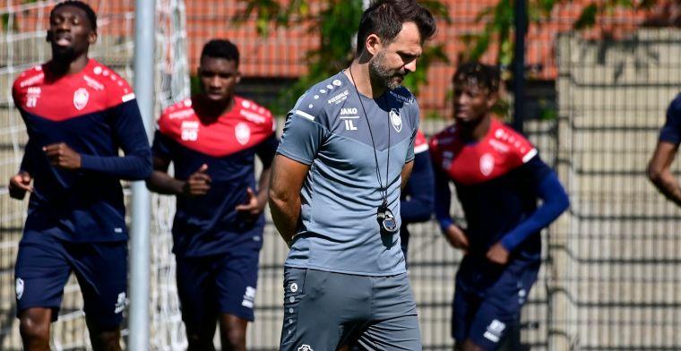 Ook in Waregem nog steeds geen Buta, drie nieuwkomers kunnen Antwerp-debuut maken