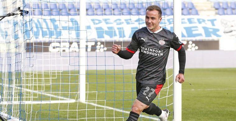 Droomstart voor Mario Götze bij PSV: doelpunt, overwinning en koppositie