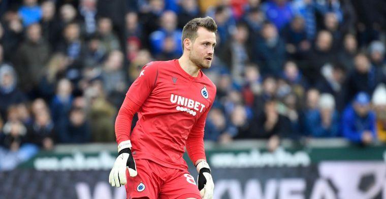 Club Brugge gaat CL in zonder Mignolet en twee extra spelers na coronatest