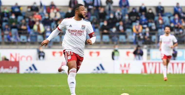 Memphis schittert in Frankrijk: assist-hattrick en mijlpaal bij zege Lyon