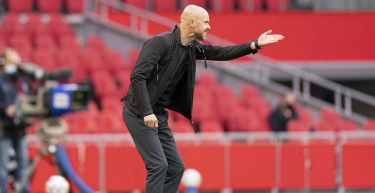 Ten Hag looft 'sturende speler' Ajax: 'Multifunctioneel, aanvallen en verdedigen'