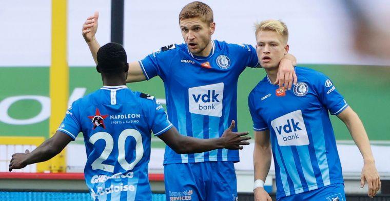 Hanche-Olsen scoort bij debuut, maar verliest zwaar: Dit is KAA Gent onwaardig