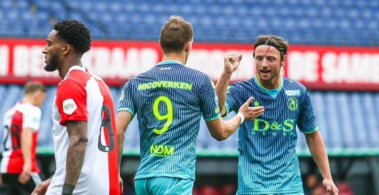 LIVE: Feyenoord ontsnapt aan tegengoal in slotseconde en speelt gelijk (gesloten)