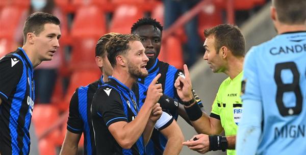 """De Bleeckere laat zich uit over tweede strafschop van Standard: """"Terechte penalty"""""""