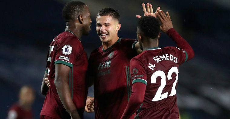 Leander Dendoncker en zijn 'Wolves' kloppen Leeds United