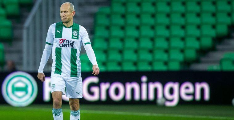 FC Utrecht-spelers zwaar onder de indruk van Robben: 'Echt een legend'
