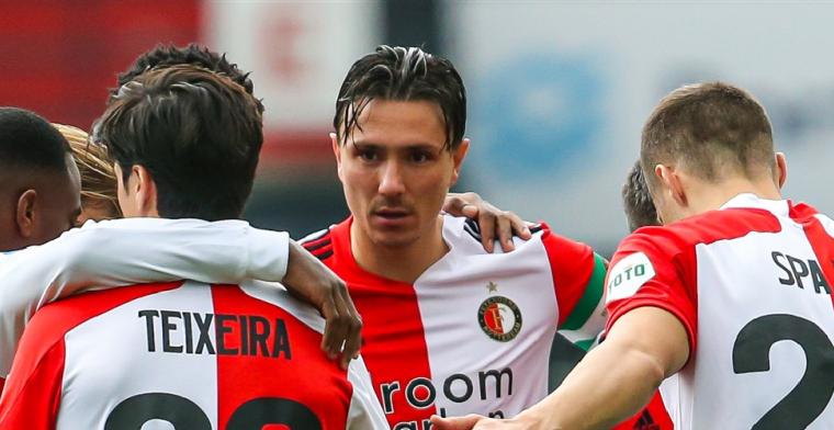 Kritiek op Feyenoord-captain Berghuis: Zijn gezicht spreekt vaak boekdelen