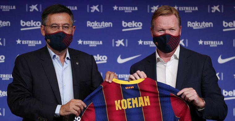 Marca: 'oorlog' tussen Barça-leiding en spelers, voorstel van tafel geveegd