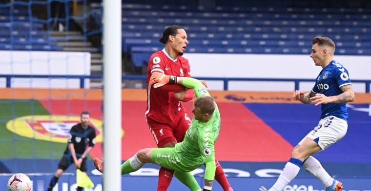 Pickford niet vervolgd voor aanslag op Van Dijk: Everton-doelman vrijgesproken