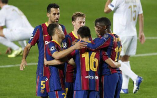 Afbeelding: Barça-hoofdrol De Jong met heerlijke assist, Ziyech krijgt halfuur tegen Sevilla