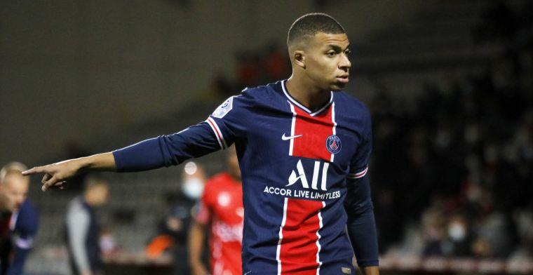 'Toekomst Mbappé bij Paris Saint-Germain onzeker, PSG denkt aan verkoop in 2021'