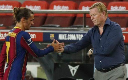 Afbeelding: Ook Wenger laat zich uit over rol Griezmann bij Barça: 'Daar moet hij spelen'