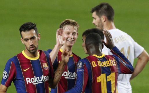 Frenkie de Jong komt met reactie bij Barça: 'Het spel verliep via zijn schoenen'