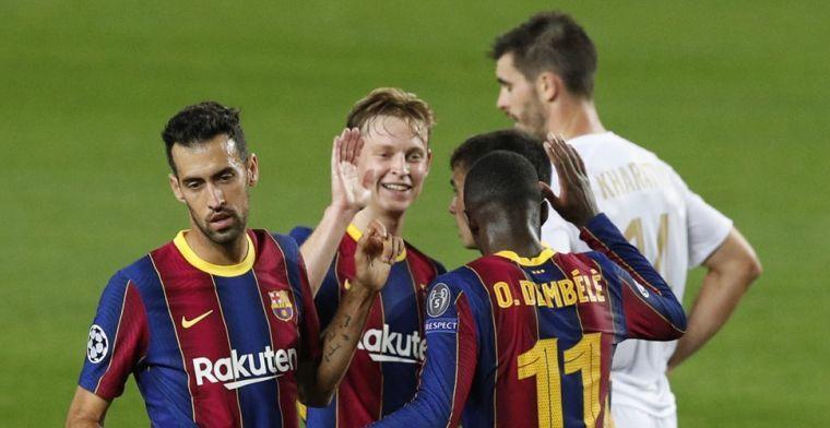 'Kloof bij Barcelona: selectie baalt van De Jong, Ter Stegen, Piqué en Lenglet'