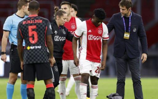 Klap voor Ajax: Kudus loopt zware blessure op en staat maanden buitenspel