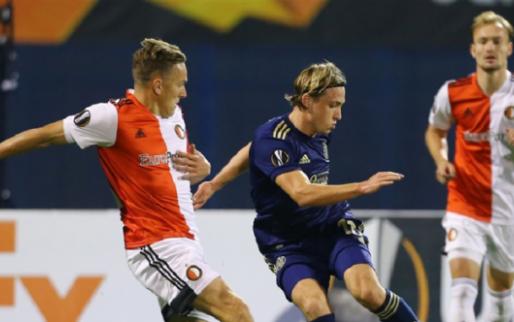 Afbeelding: Feyenoord houdt gemengde gevoelens over aan gelijkspel in Zagreb