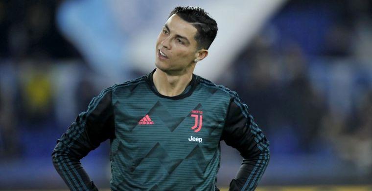 'Ronaldo test weer positief op corona: weerzien met Messi lijkt uitgesloten'
