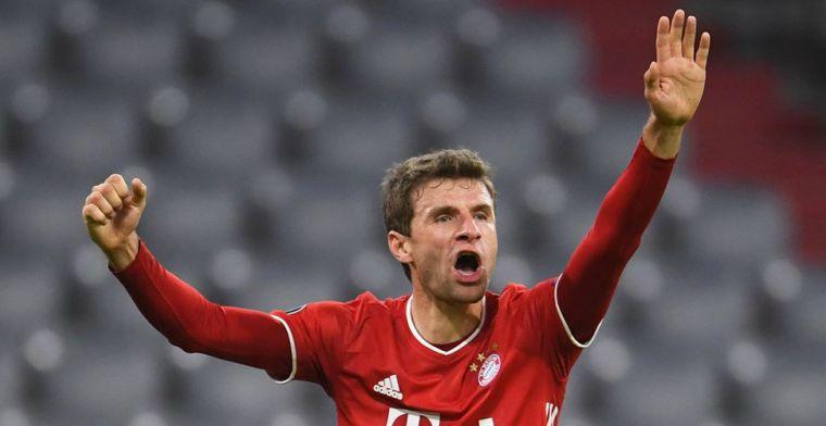 Dwaze gele kaart voor Müller: 'We spelen tegen de grootste schurken van Europa!'
