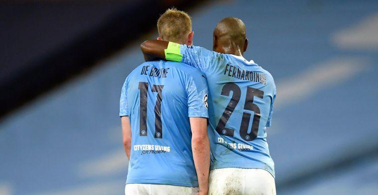 Herstelde De Bruyne staat weer op het trainingsveld bij Manchester City
