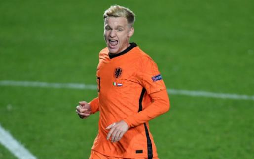 Nog geen basisplaats voor Van de Beek: 'Zelfs Zlatan en Pogba schrokken zich rot'