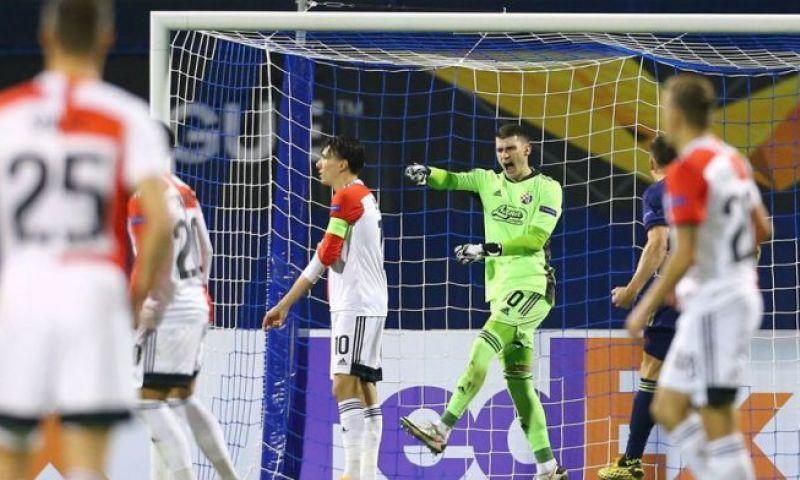 Afbeelding: ''Speels' Feyenoord dankt alsnog 'fantastische' Bijlow: 'Held van de avond'