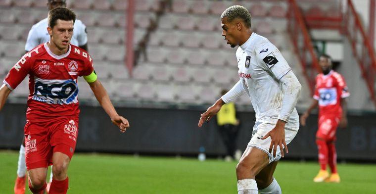 Kompany pakt uitzege met ruime cijfers op het veld van KV Kortrijk