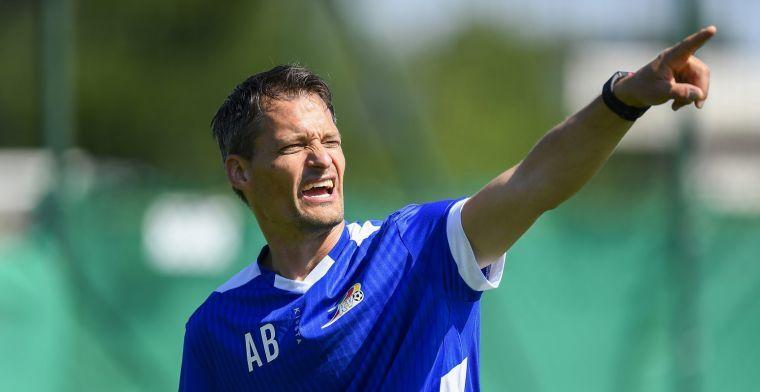 Zulte Waregem staat al drie doelpunten in het krijt na 45 minuten tegen KVO