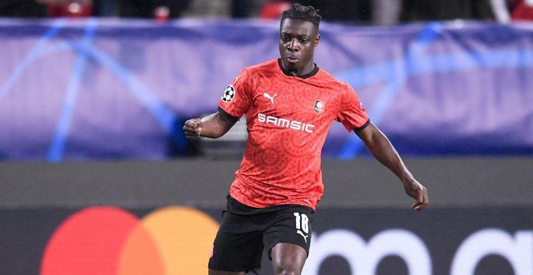 Doku start voor de eerste keer in de basis bij Stade Rennes