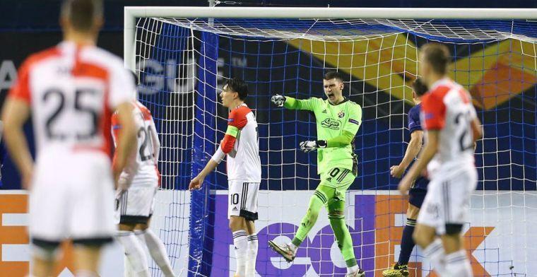 ''Speels' Feyenoord dankt alsnog 'fantastische' Bijlow: 'Held van de avond'