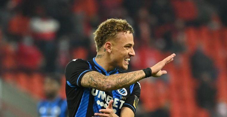 Noa Lang bij Club Brugge: 'Clement beschikt over veelzijdige lefgozer'