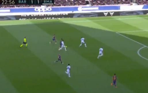 Courtois pakt uit met uitstekende parade op grote kans voor Messi