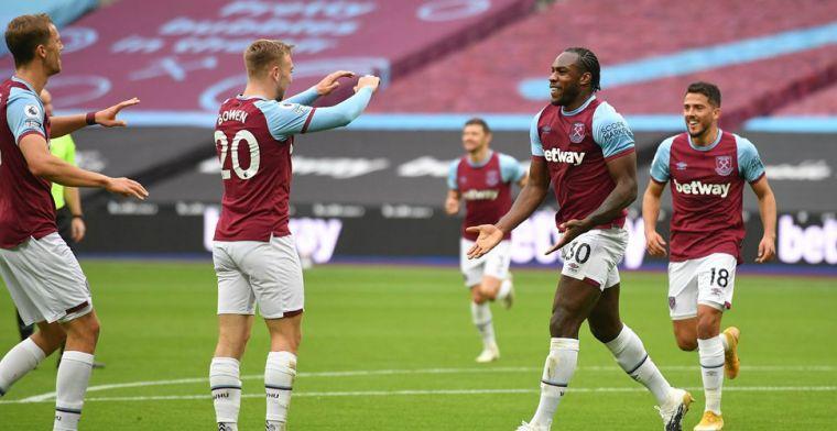 Man City laat ook punten liggen tegen West Ham na prachtige omhaal Antonio