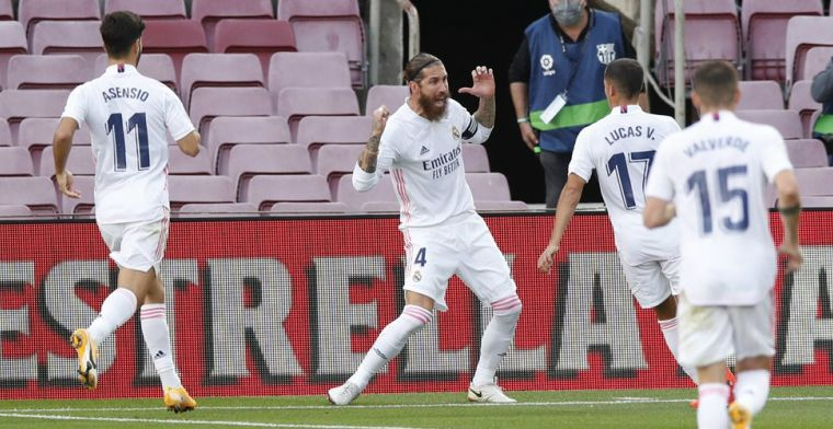 Ramos en Modric bezorgen Koeman nederlaag in eerste El Clásico als Barça-coach