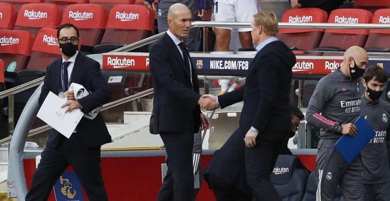 Koeman furieus na Clásico: 'Volgens mij zetten ze de VAR alleen tegen Barça in'