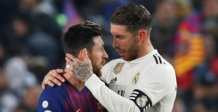OPSTELLING: Opluchting bij Real Madrid, Ramos start in El Clásico