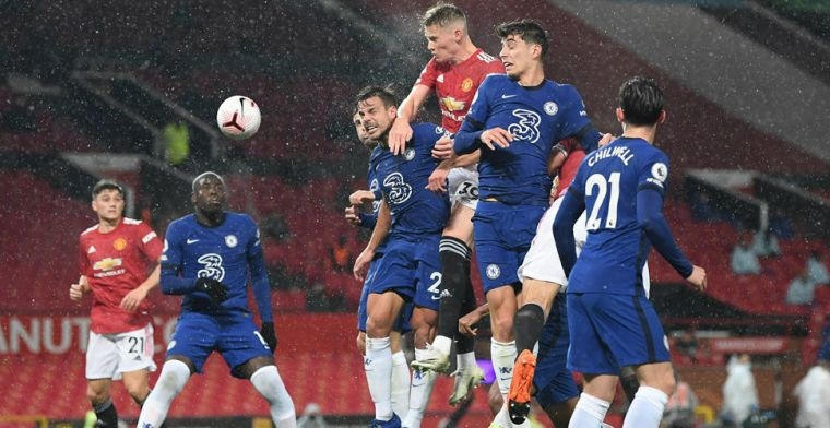 Manchester United tegen Chelsea stelt ongelofelijk teleur