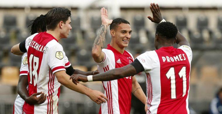 Historische monsterscore voor Ajax: dramatisch VVV krijgt er 13 (!) om de oren