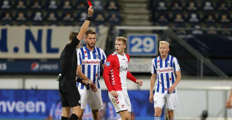 Heerenveen blijft zonder grote moeite in Eredivisie-top: twee keer rood voor Emmen