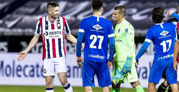 Winnende goal Van der Heijden afgekeurd door VAR: 'Die keeper ziet de bal toch?'