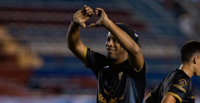 Ronaldinho is het volgende slachtoffer van COVID-19