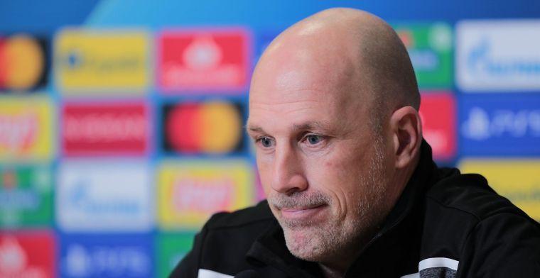 Clement verliest met Club Brugge: Heel veel goede dingen gezien