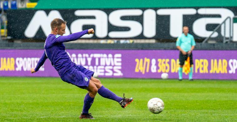 Van Hintum grote man bij FC Groningen: 'Weet dat ik een goede voorzet heb'