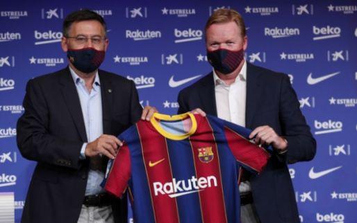 'Groot nieuws uit Camp Nou: verguisde Bartomeu vertrekt als Barcelona-baas'